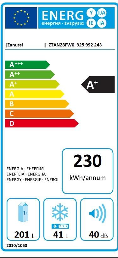 Etiqueta de Eficiencia Energética - 925992243