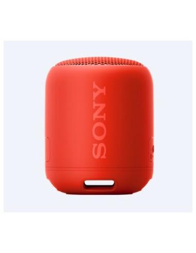Altavoz SONY SRSXB12R Bluetooth Rojo