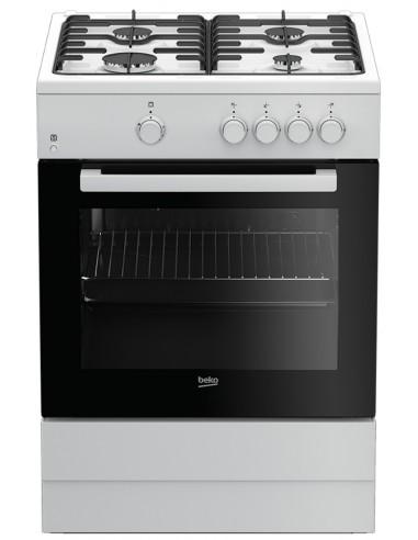 Cocina Gas - Beko FSG62000DWL,...
