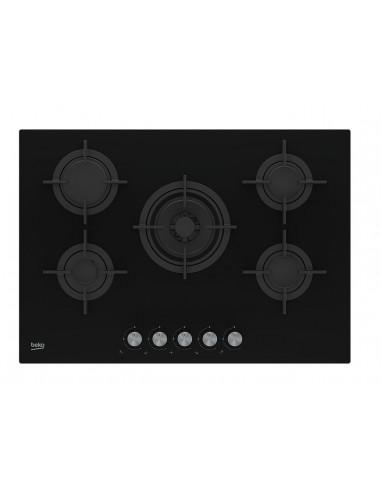 Placa Gas - Beko HILW75222SL, 5...