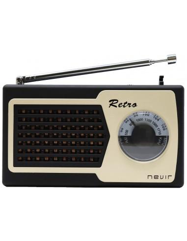 Radio Portátil - Nevir NVR200 Negro