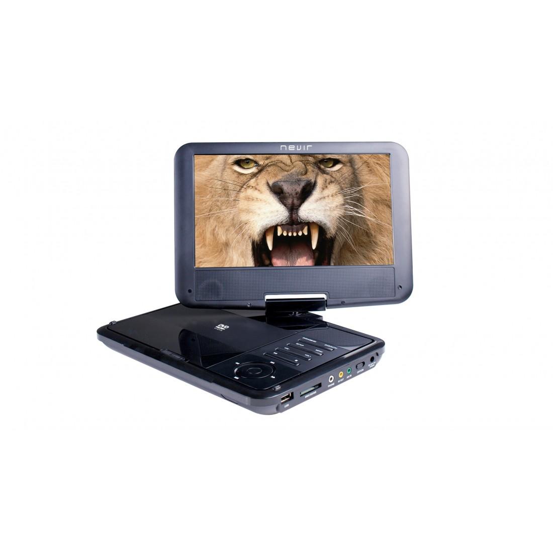 """DVD Portátil - Nevir NVR2781DVD 9"""""""