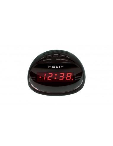 Radio Despertador - Nevir NVR333DD negro