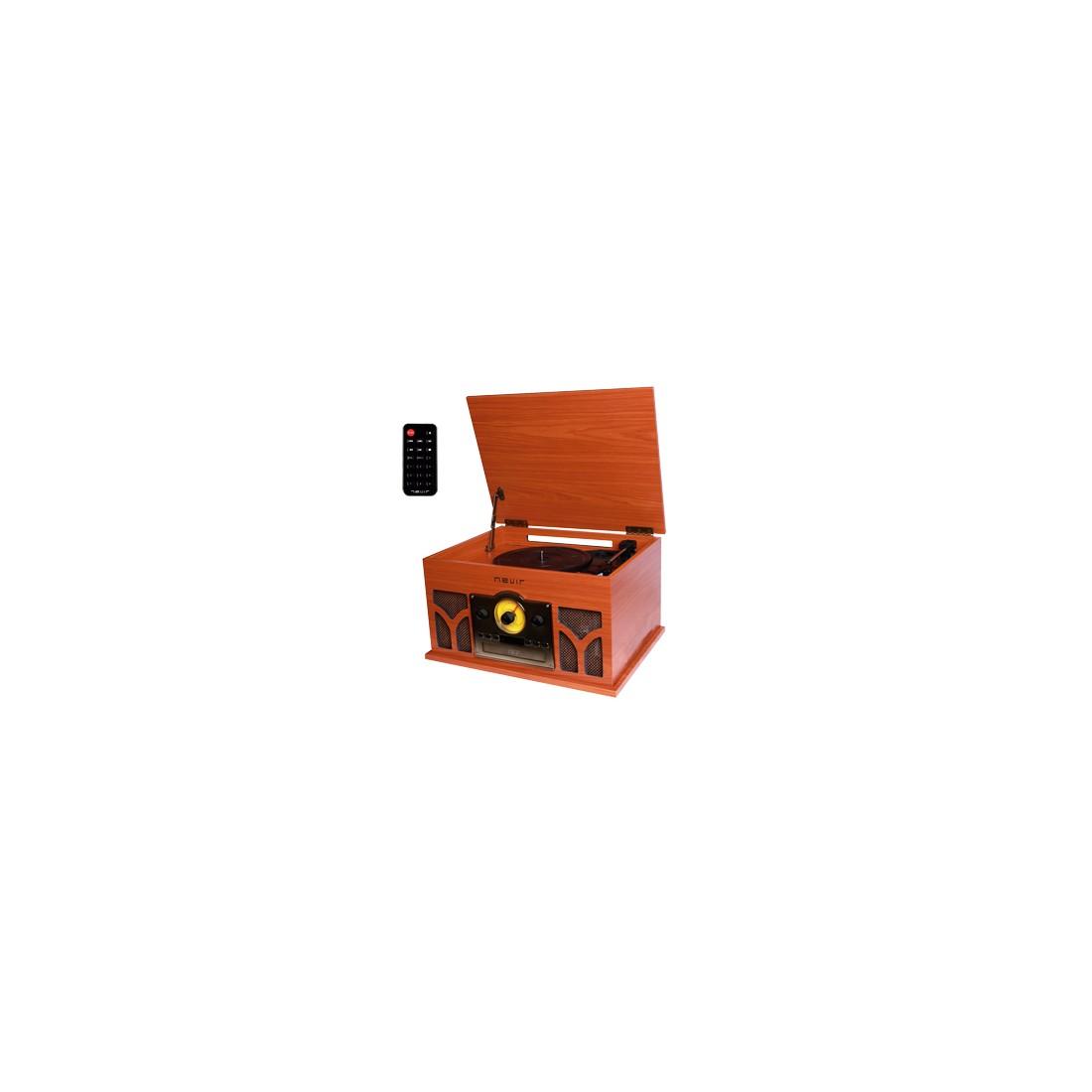 Giradiscos - Nevir NVR807VRBUC Bluetooth