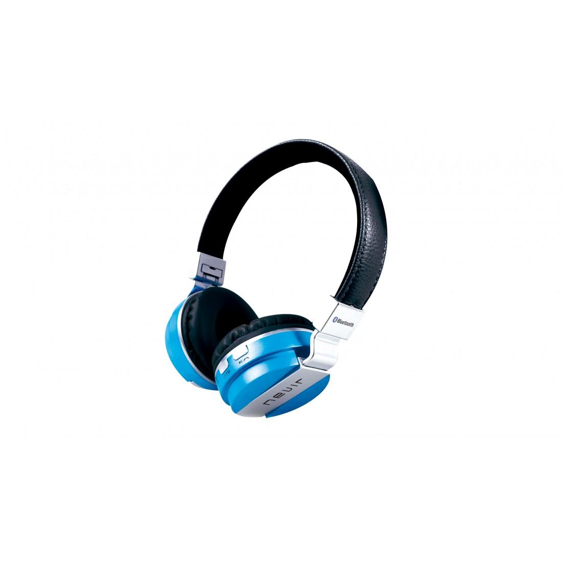 Auricular Diadema - Nevir NVR945BH Azul, Bluetooth