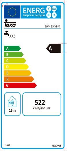 Etiqueta de Eficiencia Energética - 111720000