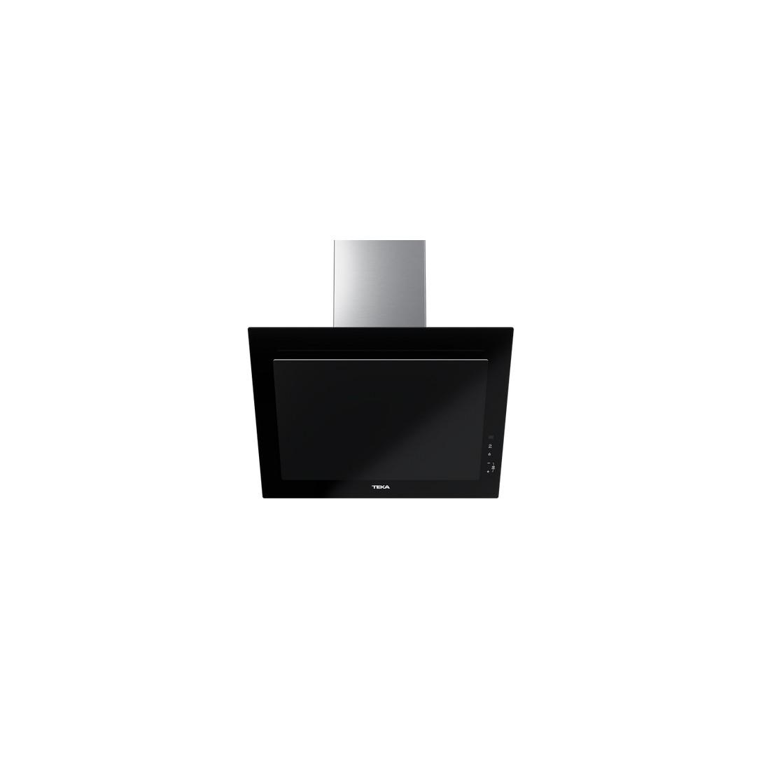 Campana Decorativa - Teka DVT 68660 TBS BK, 60 cm, Negro