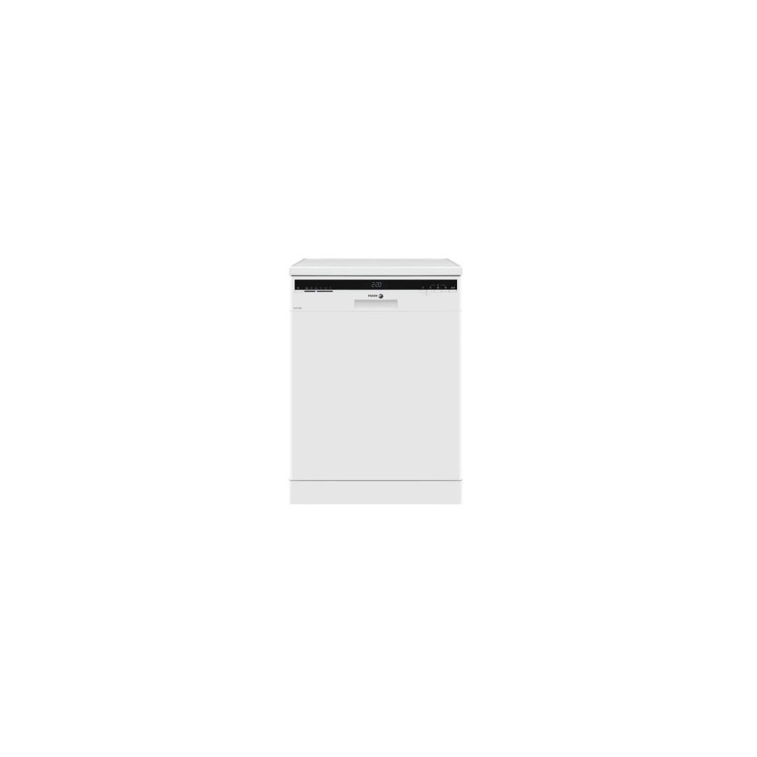 Lavavajillas Libre Instalación - Fagor 3LVF-623, Eficiencia A++, 12 kg, Blanco
