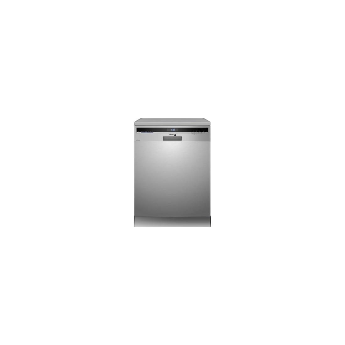 Lavavajillas Libre Instalación - Fagor 3LVF-623X, Eficiencia A++, 12 kg, Acero Inoxidable