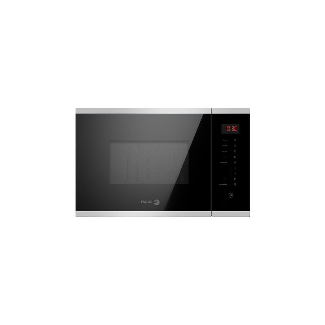 Microondas Integrable - Fagor 3MWB-25BTCGX, Acero Inoxidable y negro