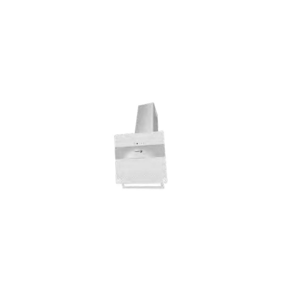 Campana Decorativa - Fagor 3CFT-610B, Eficiencia A, Acero Inoxidable y blanco, Inclinada
