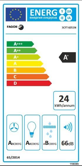 Etiqueta de Eficiencia Energética - 3CFT-6051N