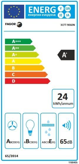 Etiqueta de Eficiencia Energética - 3CFT-9060N