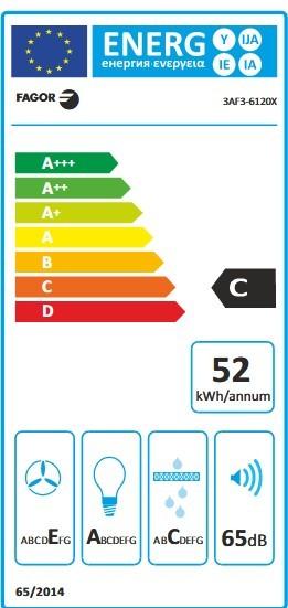 Etiqueta de Eficiencia Energética - 3AF3-6120X