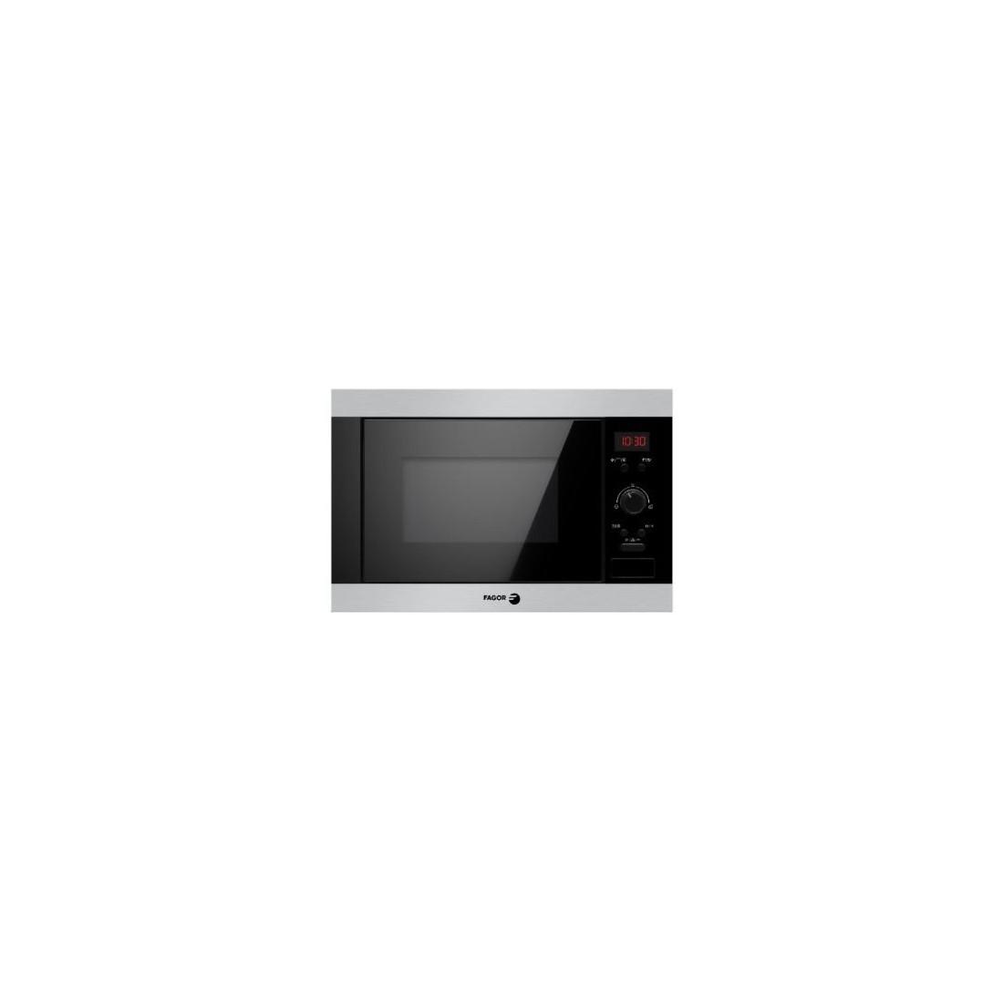 Microondas Integrable - Fagor 3MWB-25BEGX, Acero Inoxidable y negro