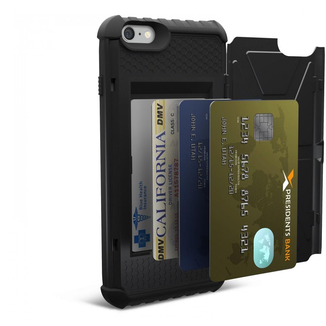Funda Smartphone - UAG Iphone 6/6S Plus Card Case, Negro
