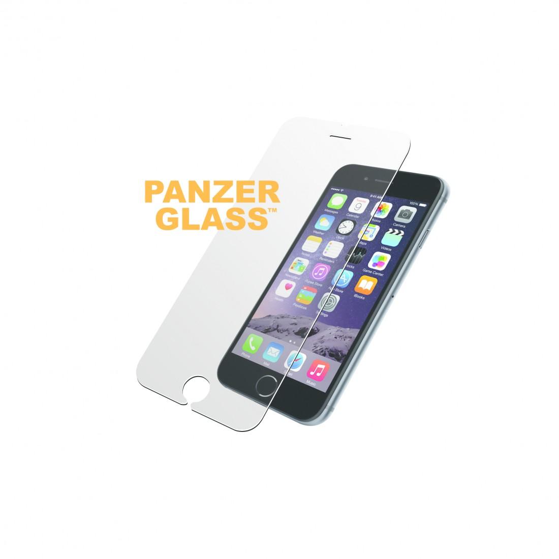Cristal templado - Panzerglass P166265, Iphone 6/6S Plus