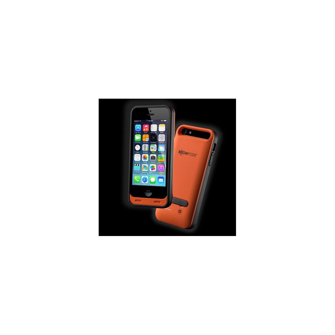 Funda Smartphone - Boompods PCORA, Iphone 5, Naranja