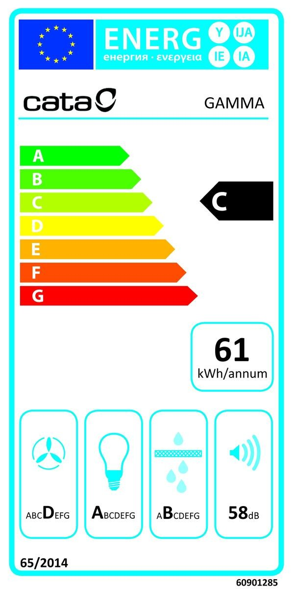Etiqueta de Eficiencia Energética - 02008210