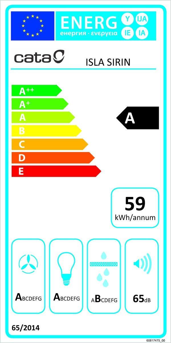 Etiqueta de Eficiencia Energética - 02111001