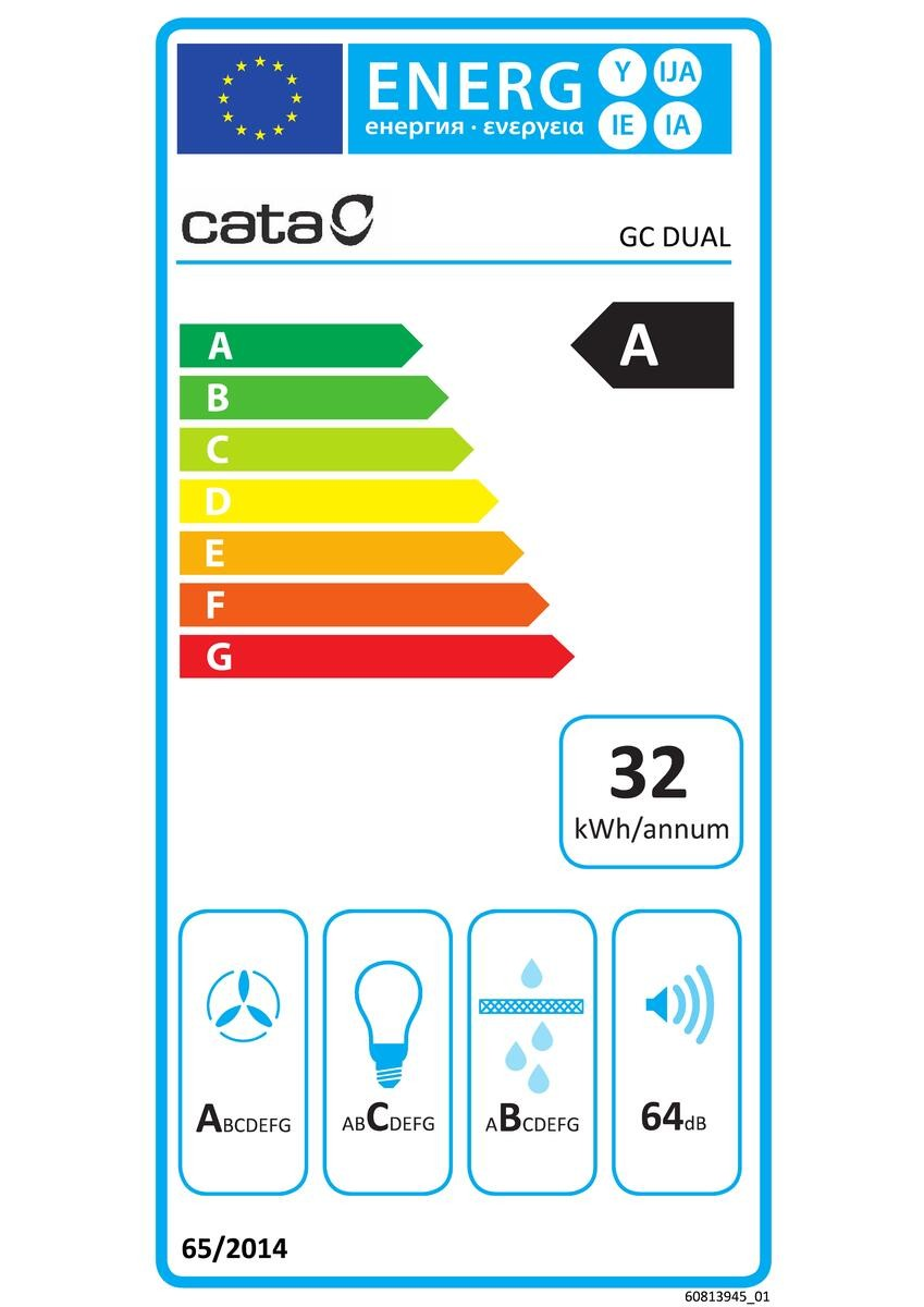 Etiqueta de Eficiencia Energética - 02130207