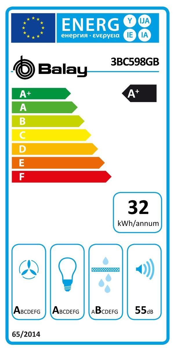 Etiqueta de Eficiencia Energética - 3BC598GB