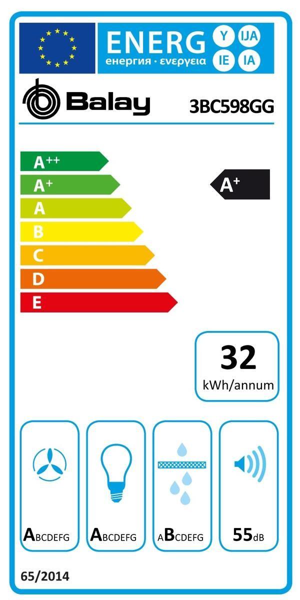 Etiqueta de Eficiencia Energética - 3BC598GG