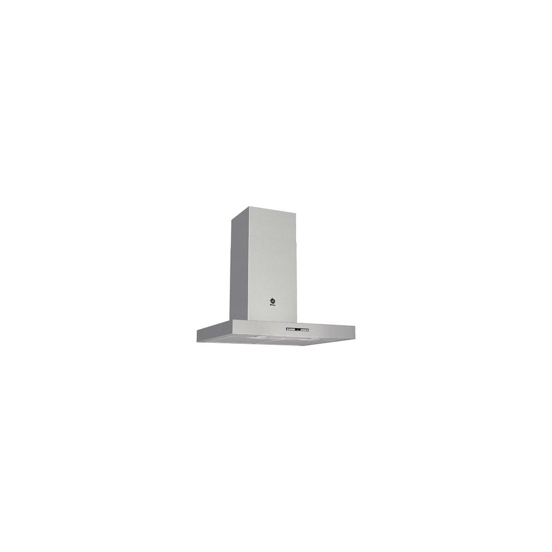 Campana Decorativa - Balay 3BC866XM, Acero Inoxidable, T-Invertida