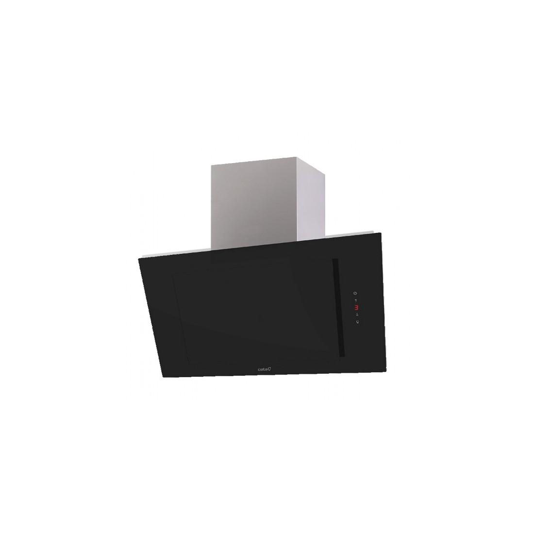Campana Decorativa - Cata THALASSA 800XGBK Negro, 80 cm