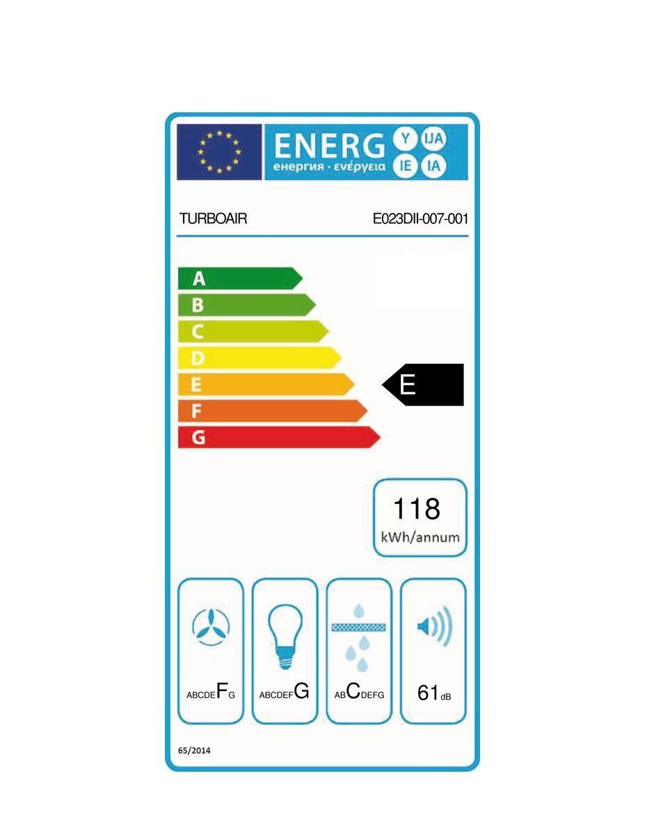 Etiqueta de Eficiencia Energética - CERTOSA IX/A/60/PB