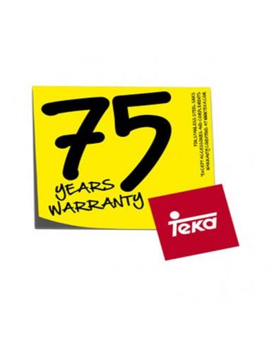 TEKA 75 años de garantía adicional