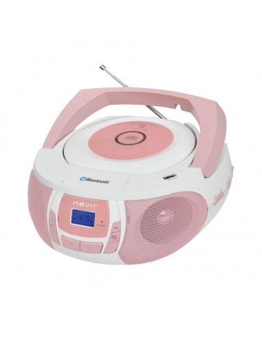 Radio CD - Nevir NVR481 Rosa