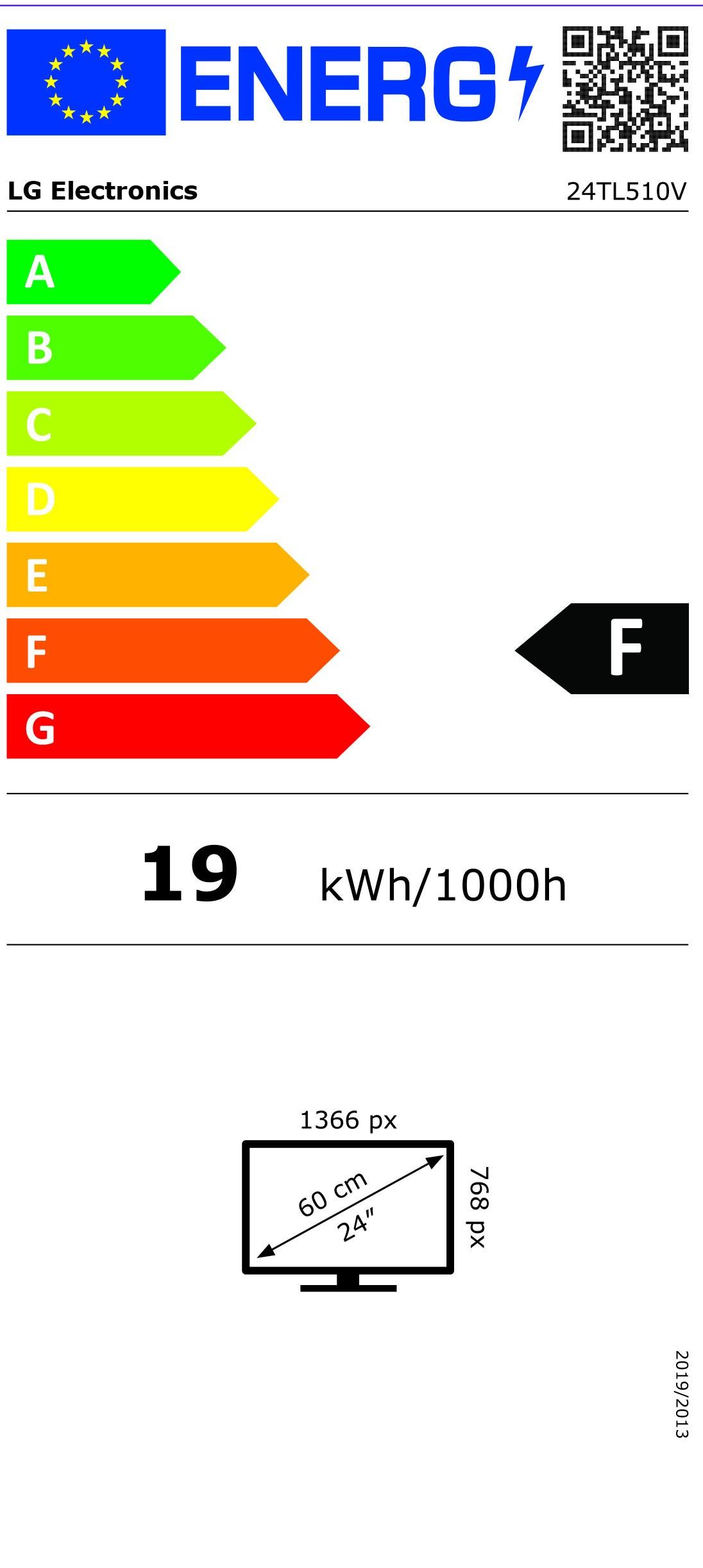 Etiqueta de Eficiencia Energética - 24TL510VPZ