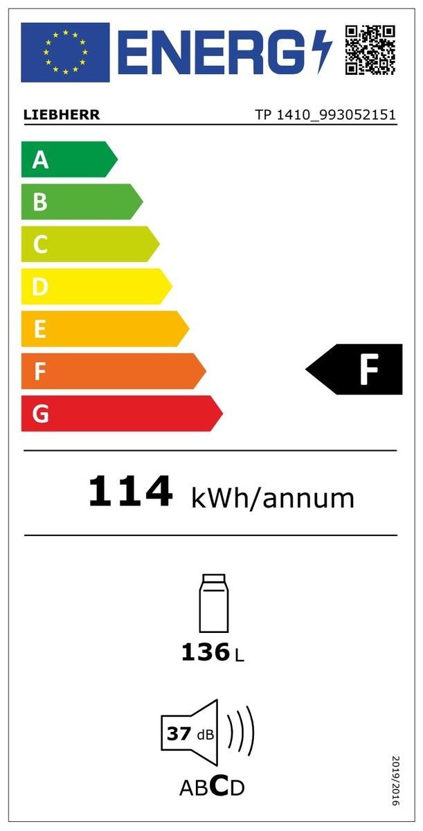 Etiqueta de Eficiencia Energética - TP1410