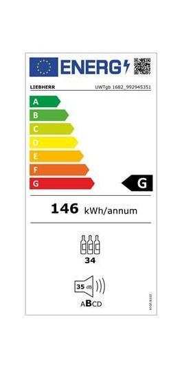 Etiqueta de Eficiencia Energética - UWTGB1682