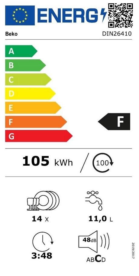 Etiqueta de Eficiencia Energética - DIN26410