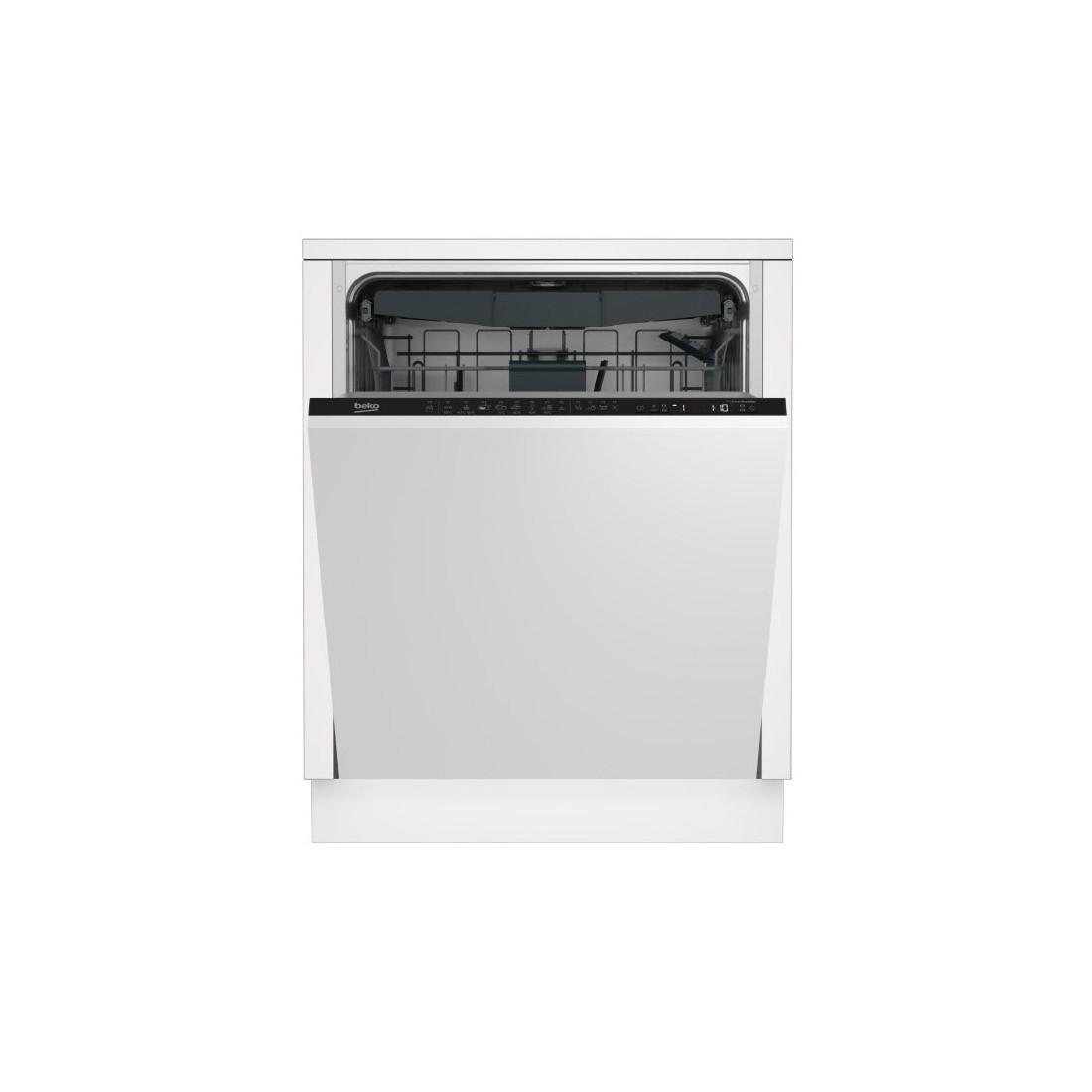 Lavavajillas Integrable - Beko DIN28423, Eficiencia A++, 14 kg