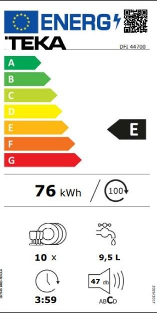 Etiqueta de Eficiencia Energética - 114310000