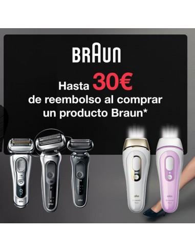 Hasta 30 euros de reembolso con Braun