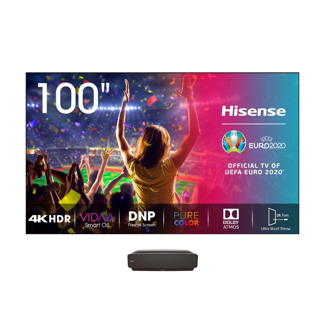 """Láser TV - Hisense 100L5F-A12 100"""" Smart 4K HDR"""
