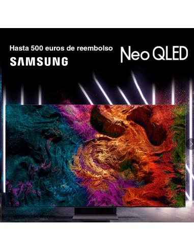 Consigue hasta 500 euros en tvs Samsung