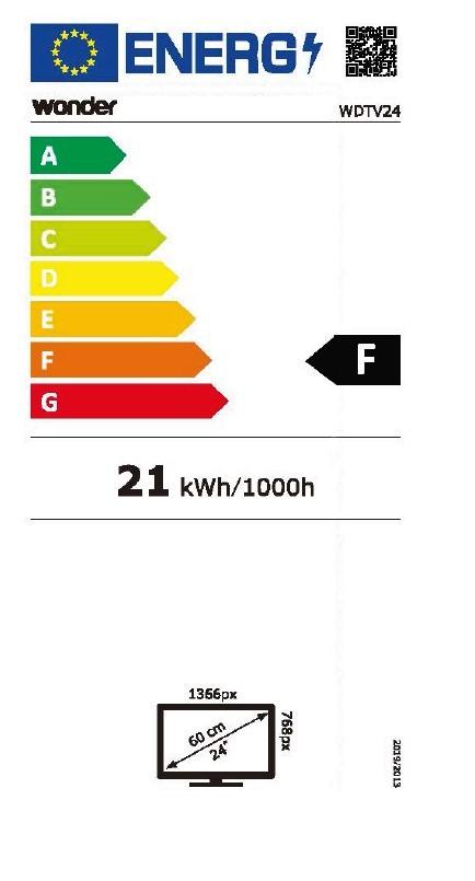 Etiqueta de Eficiencia Energética - WDTV24