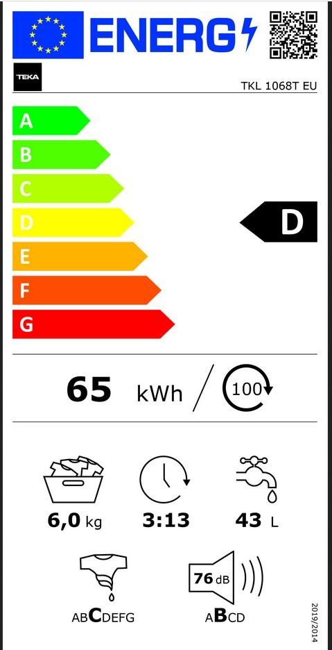 Etiqueta de Eficiencia Energética - 113910000