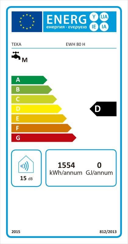 Etiqueta de Eficiencia Energética - 111720003