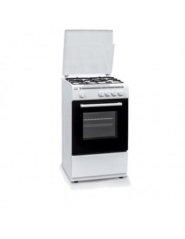 Cocina Gas - New Pol NWC55BW, 50 cm,...