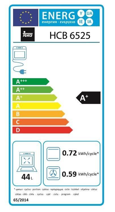 Etiqueta de Eficiencia Energética - 111020033