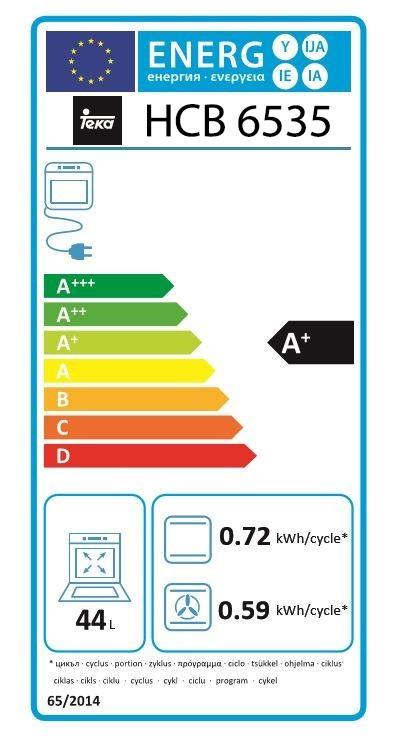 Etiqueta de Eficiencia Energética - 111020034