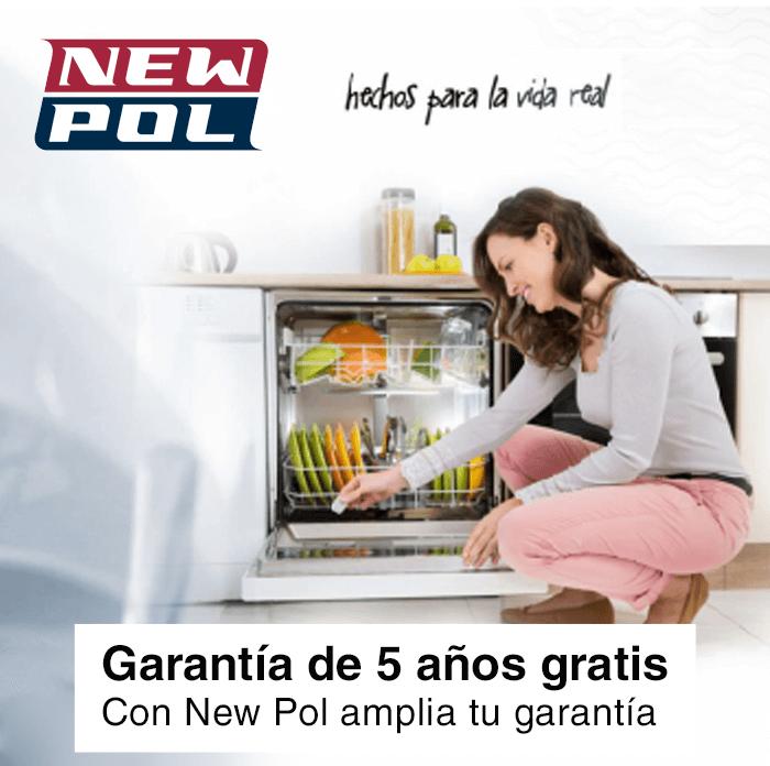 New Pol garantía gratis