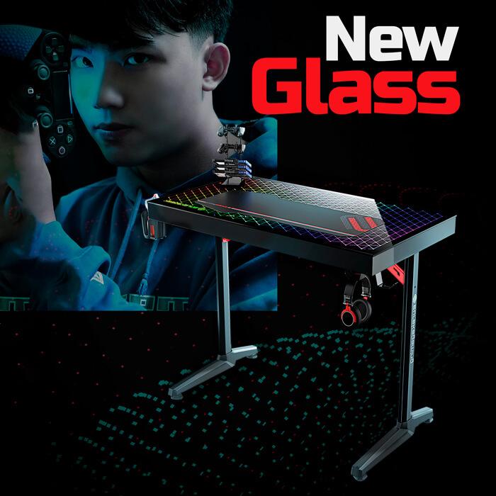Mesa de escritorio Glass