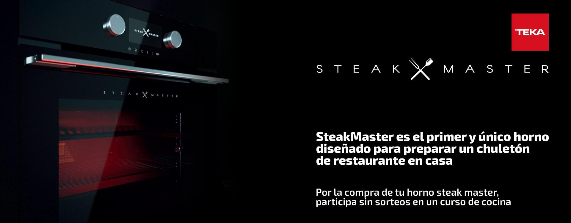 Steakmaster es el primer y único horno diseñado para preparar un chuletón de restaurante en casa